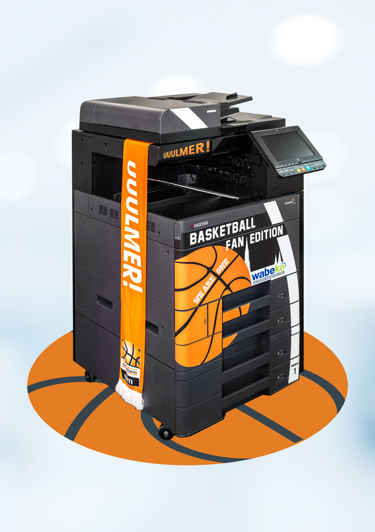 Wabeko Basketball Fan Edition Multifunktions-Drucker