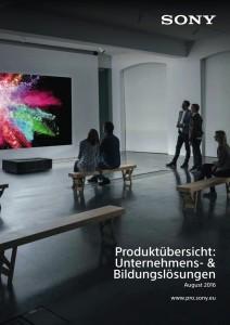 Sony Professional Katalog
