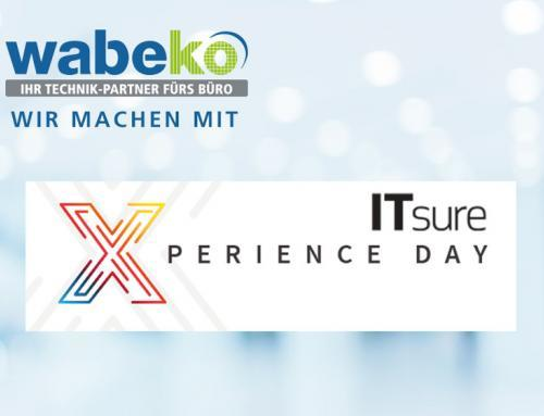 Wir stellen aus! Beim IT-sure X-perience Tag am Mi, 18. April 2018
