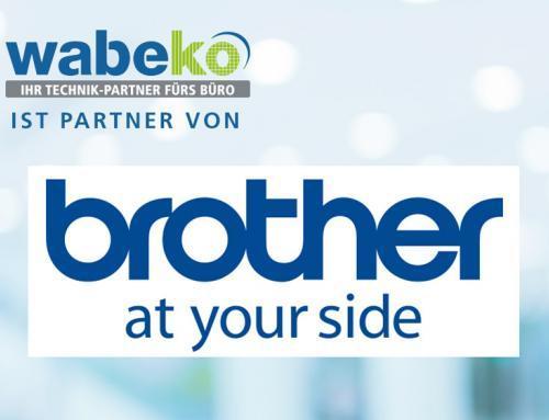 Wabeko ist jetzt Partner von brother