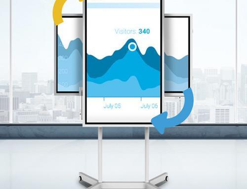 Das Flipchart der Zukunft. Das Samsung Flip.
