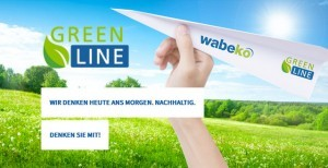 Wir arbeiten nachhaltig - mit unserem greenline Umweltkonzept