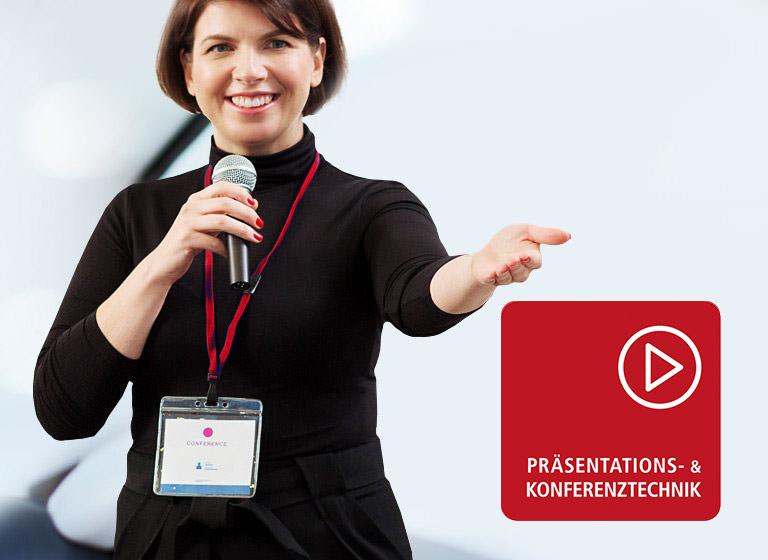Präsentationssysteme - alles auf einer Hand