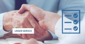 Unser Service - wir sind Ihr Partner